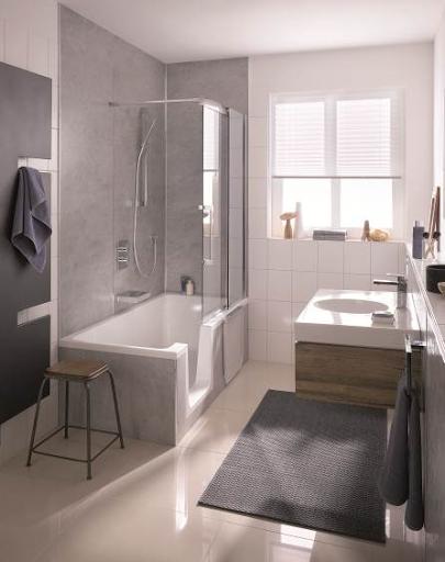 duschwanne dobla von hsk ein durchdachtes dusch und badekonzept franke raumwert. Black Bedroom Furniture Sets. Home Design Ideas