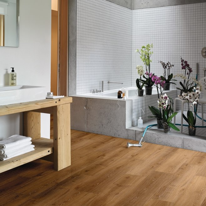 Bodenbelag Fã¼R Badezimmer | Bodenbelag Im Bad Was Es Gibt Und Worauf Es Ankommt Franke Raumwert
