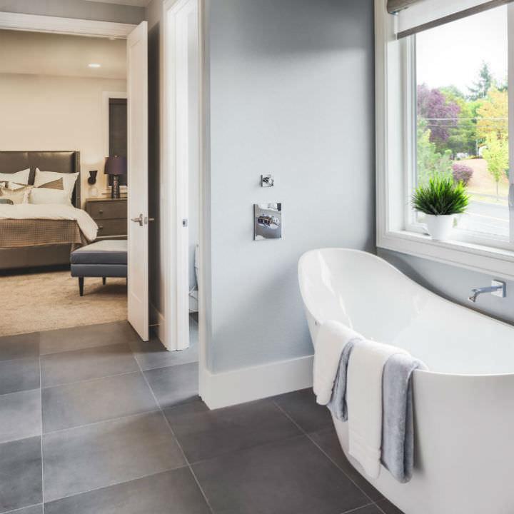 Schlafzimmer Bad Kombination: Erholungstempel Dampfbad Und Sauna ... Bad Design Geometrische Asthetik Giano Serie Rexa Design