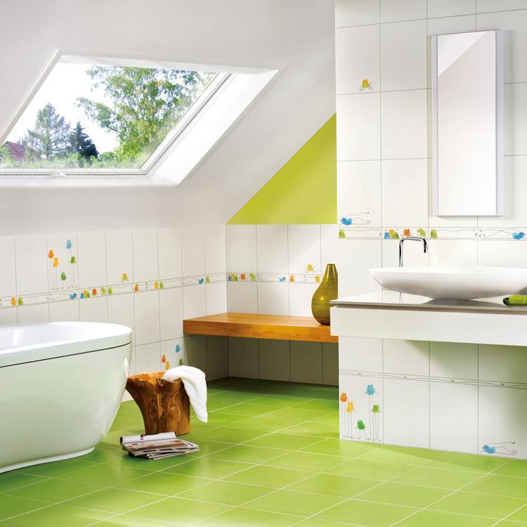 Kinderbadezimmer - rundherum wohlfühlen auch für den Nachwuchs ...
