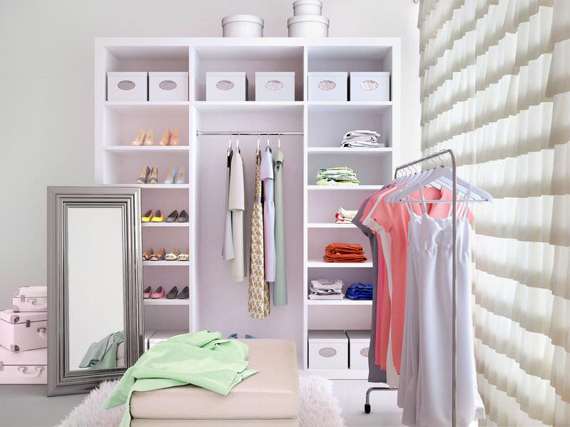 ankleidezimmer die sch nste nebensache im haus franke raumwert. Black Bedroom Furniture Sets. Home Design Ideas