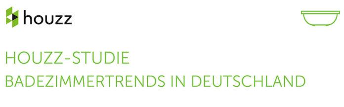 Aktuelle Badezimmertrends in Deutschland – großangelegte Studie von Houzz