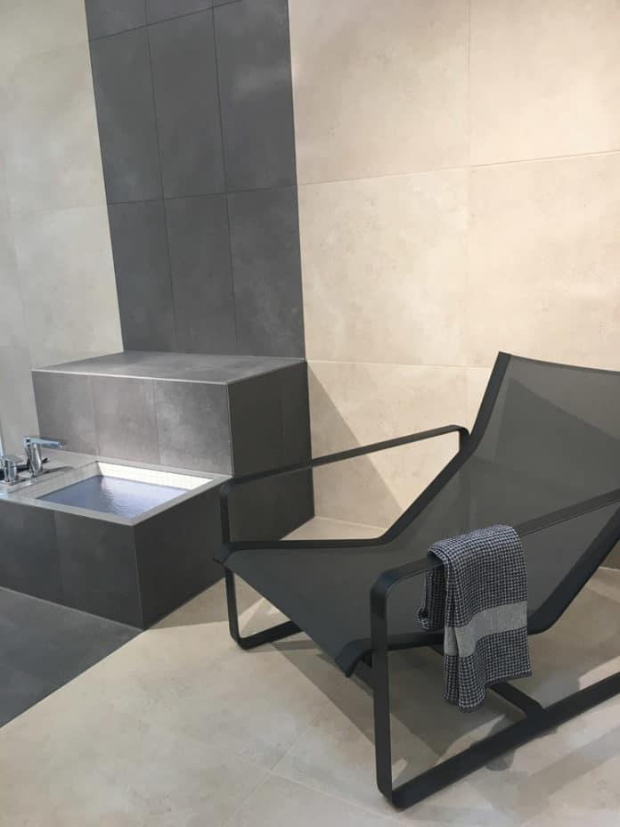 villeroy boch hudson sandsteinoptik fliesentrend 2018. Black Bedroom Furniture Sets. Home Design Ideas