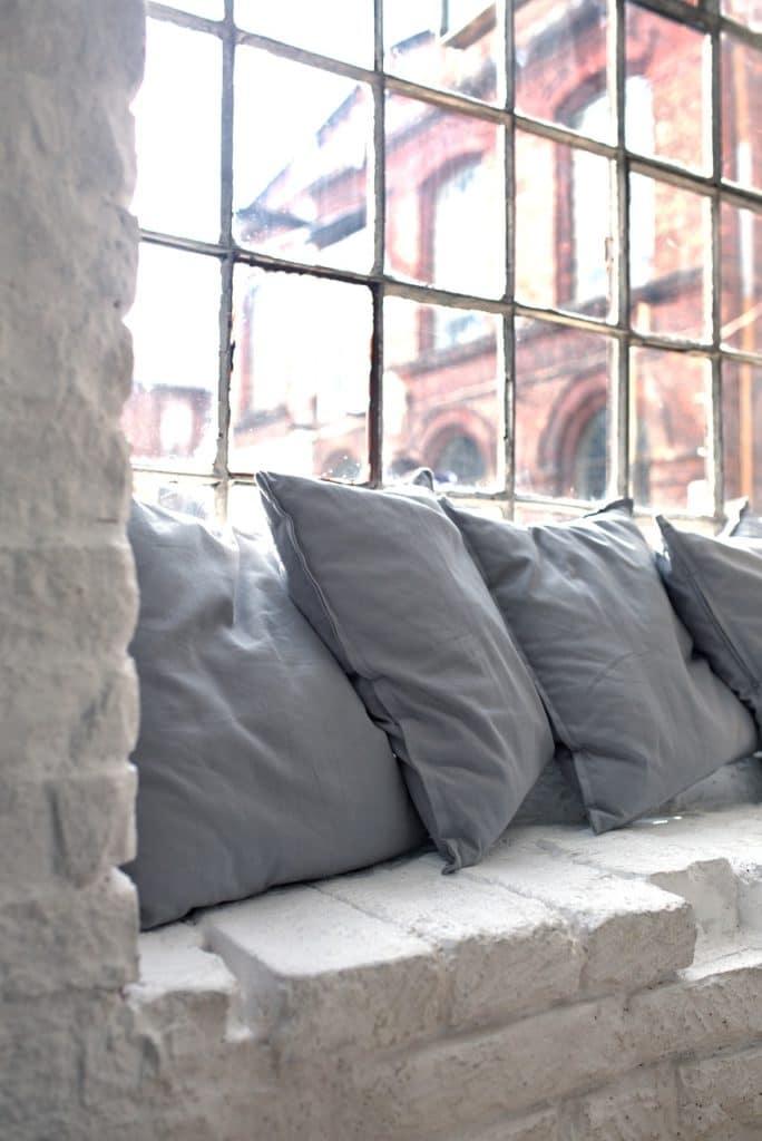 Kissen Fensterbank