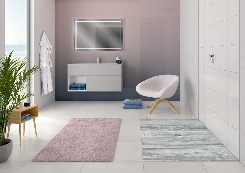 Das Badezimmer streichen – aber in welcher Farbe? | Franke Raumwert