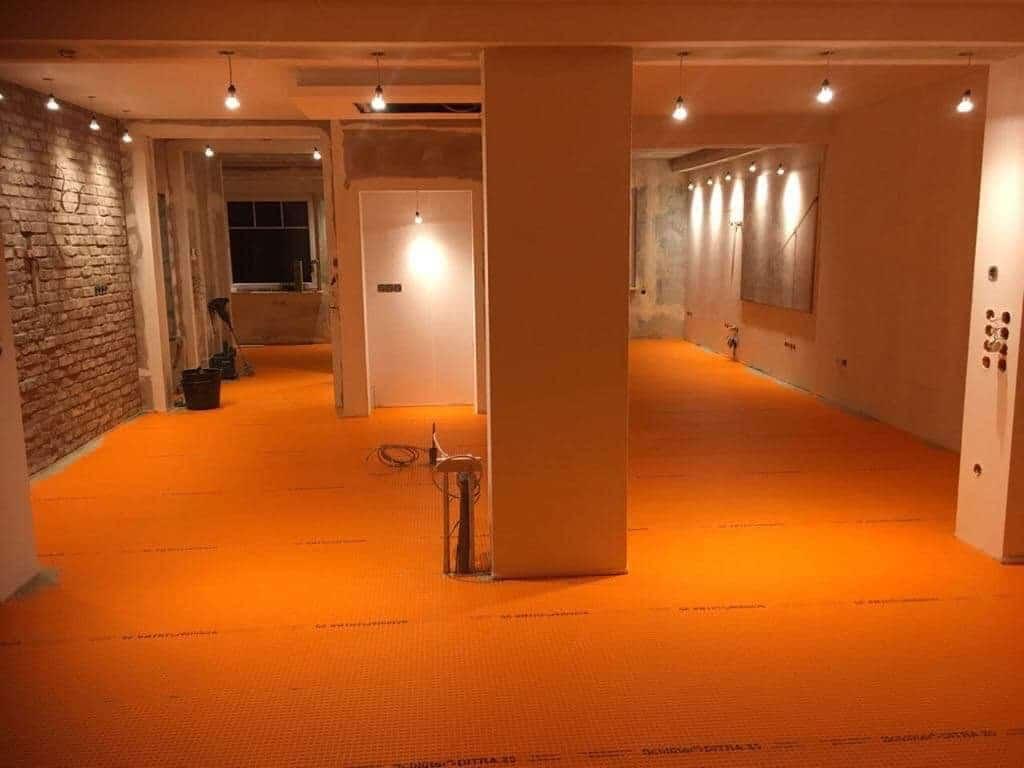 Fußbodenheizung auf alten Holzdielen?