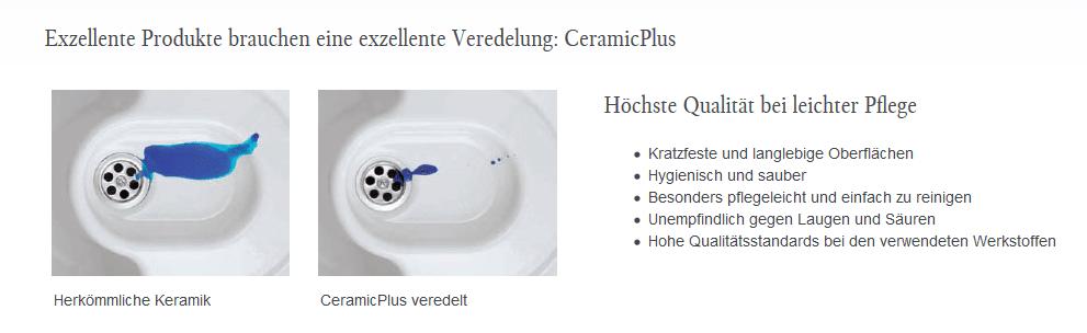 Ceramicplus bei Villeroy und Boch