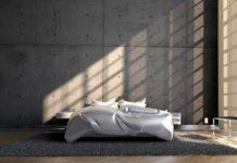 Fußboden Material im Schlafzimmer