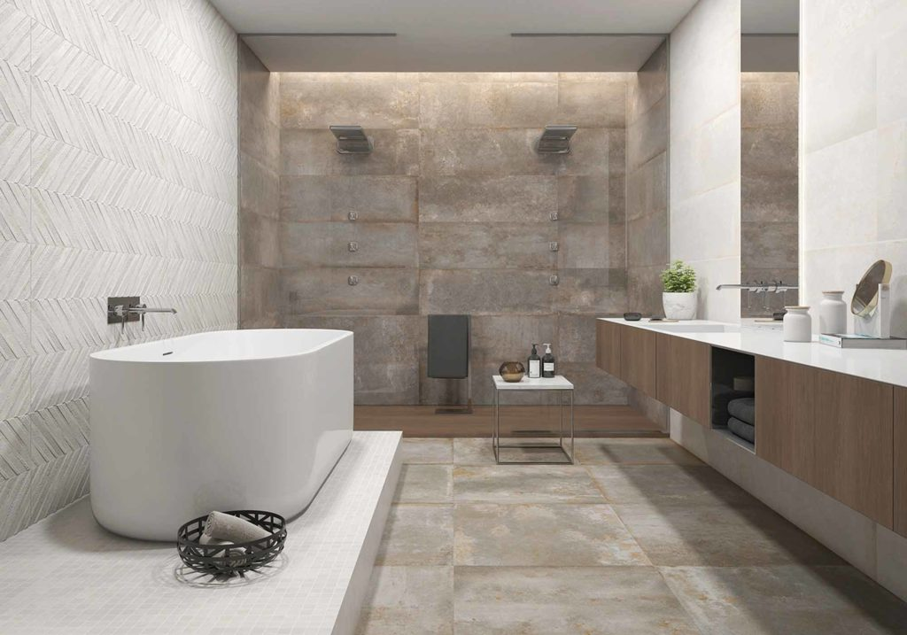 Klassische Gestaltung im Badezimmer