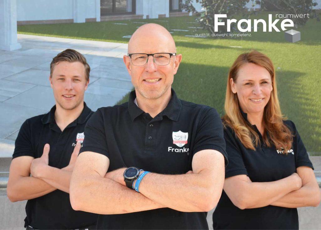 Franke-Raumwert - Team