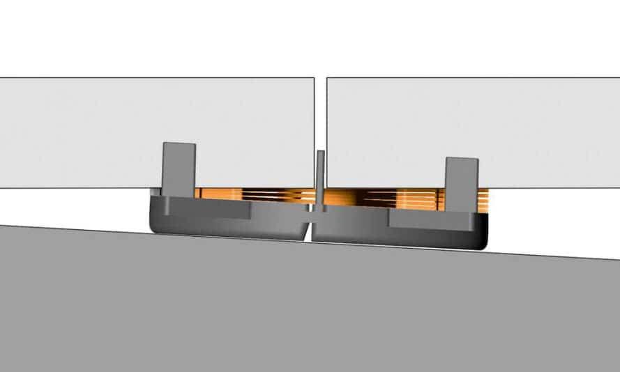 Schlüter-Systems-Ausgleichsplättchen Plattenlager Terrasse