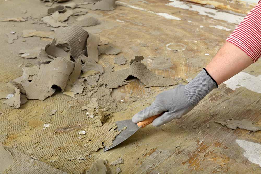 Teppichkleber entfernen: Schritt für Schritt   Franke Raumwert