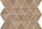 Preview: Flaviker Cozy Mosaik Brown 34x26 cm