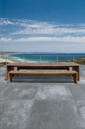 PrimeCollection Cima di Castello Outdoor Terrassenplatte Nero 80x80 cm