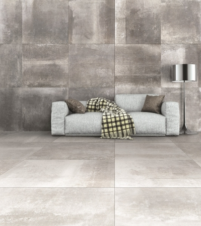 PrimeCollection HemiPLUS Platinum matt Boden- und Wandfliese 30x60 cm