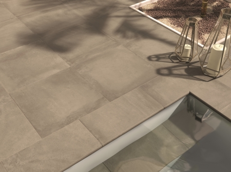 PrimeCollection PLUSOutdoor Terrassenplatte Muddy 60x60 cm