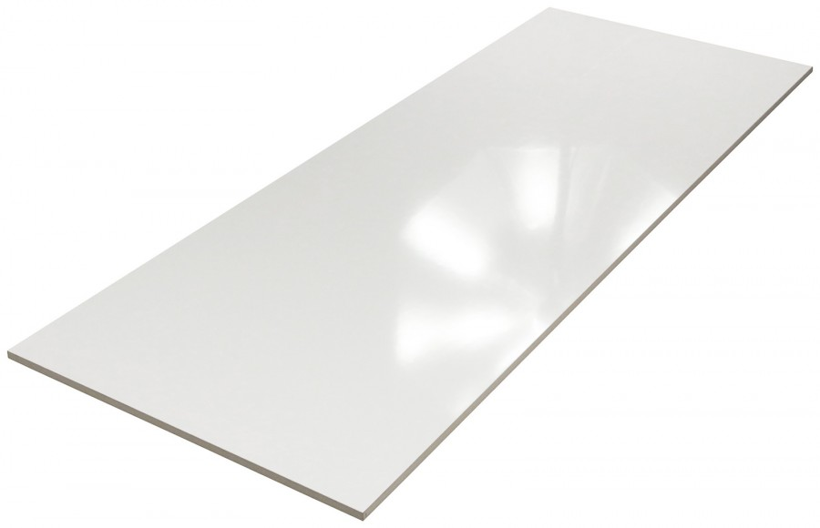 PrimeCollection Blanco XXL Wandfliese weiß 45x120 cm