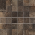 PrimeCollection HemiPlus Copper matt Mosaik 5x5 cm (Matte 30x30 cm)